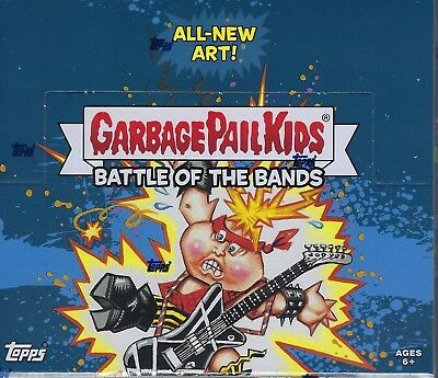 2017 Topps Garbage Pail Kids #2 Battle Of The Bands Cards 24pk Retail Box