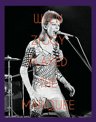 David Bowie When Ziggy Played The Marquee Hardback Book New Sealed Terry O'neill