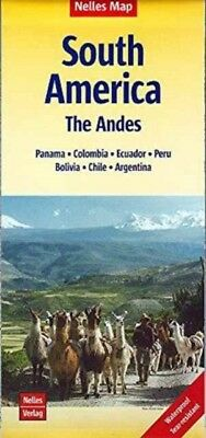 South America Andes Nel Map Cuscomachu P, 9783865744463