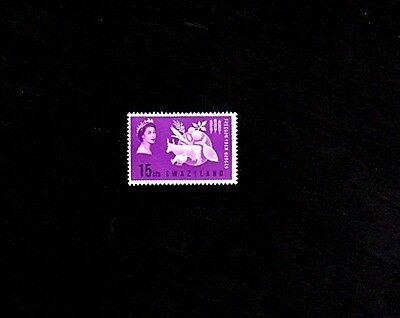 Swaziland - 1963 - Qe Ii - Freedom  From  Hunger - Mint - Mnh - Single!