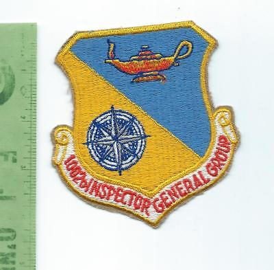 US Air Force USAF 1002nd Inspector General Group  patch