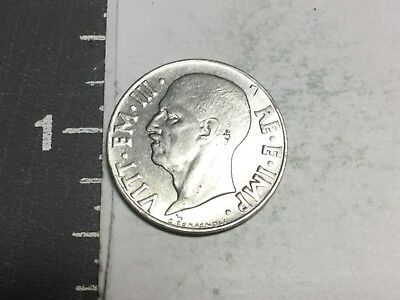 ITALY 1940 20 Centesimi coin non magnetic uncirculated