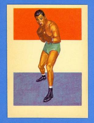 Joe Louis - The Brown Bomber 1956 Topps R749 Adventure #41 - Mint Condition!!!