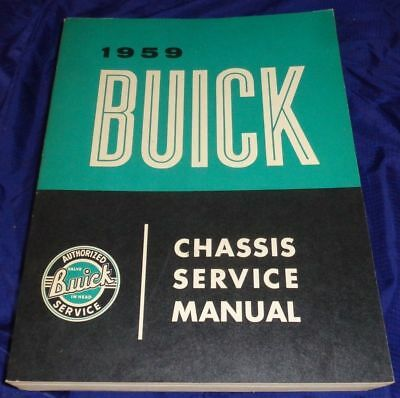 AM044 1959 Buick Chassis Service Manual