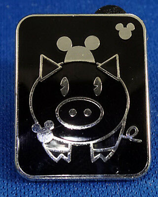 THE PIG Disney Pin 64830 WDW Hidden Mickey Series lll Pig With Mouse Ears - MINT