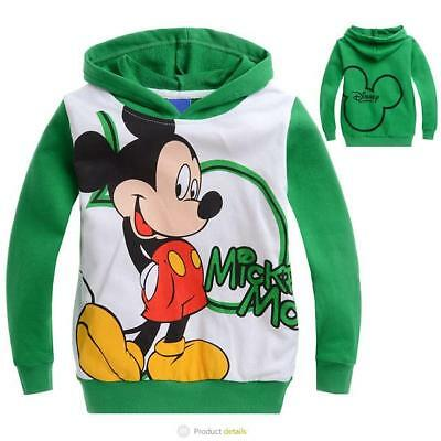 1pc baby toddler boys clothes hoodie pullover outerwear cartoon green 2-3 Y