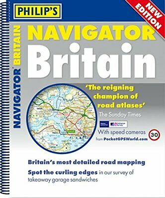 Philip s Navigator Britain (Mainland Atlas with route planner map... by Philip's
