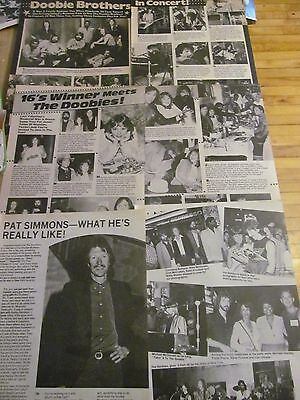 The Doobie Brothers, Lot of THREE Two Page Vintage Clippings