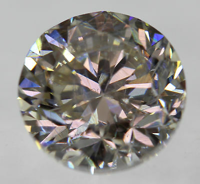 Certified 1.00 Carat K VS1 Round Brilliant Enhanced Natural Diamond 6.03mm
