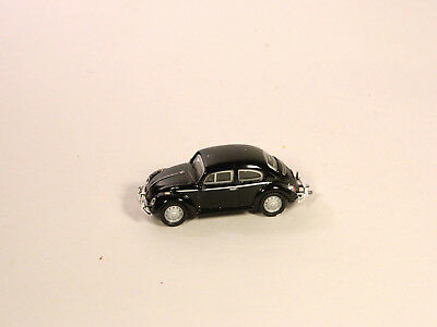 HO 1/87 Diecast Vehicle 1960s VOLKSWAGEN VW BUG BEETLE Black
