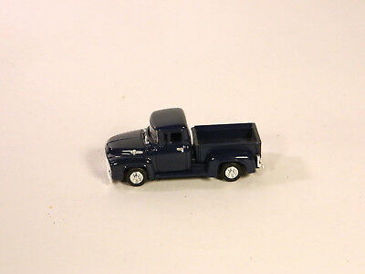 HO 1/87 Diecast Vehicles 1956 FORD PICKUP F150 Dark Blue