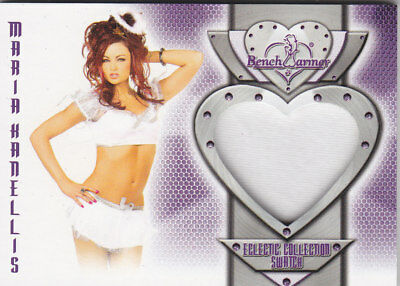 2016 Benchwarmer Eclectic Collection Maria Kanellis Authentic Swatch Card