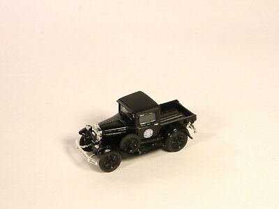 HO 1/87 Plastic Vehicles 1920s FORD PICKUP RIO GRANDE RAILROAD Black