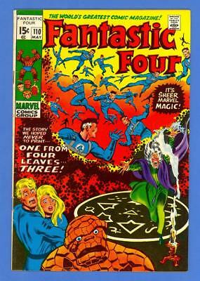 Fantastic Four #110 – Marvel Comics (1971) – Annihillus Appearance!