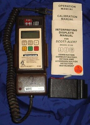 BH515 Vtg Scott Alert Gas Detection Instrument S108