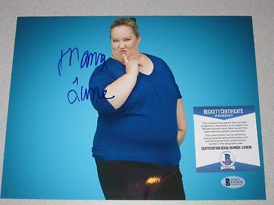 MAMA JUNE Honey Boo Boo SIGNED Autograph 8x10 PHOTO Beckett BAS COA 3