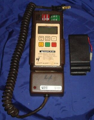 BH517 Vtg Scott Alert Gas Detection Instrument S108