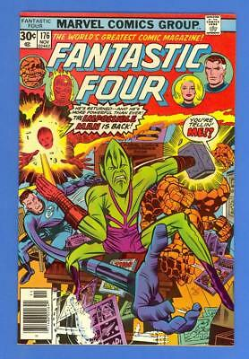 Fantastic Four #176 – Marvel (1976) – The Impossible Man – High Grade!