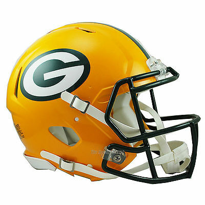 Green Bay Packers Riddell Authentic Speed Football Helmet