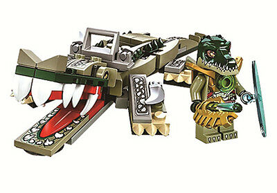 Legends of Chima Crocodile Beast 120PCS No Box fit lego #c