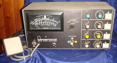 BH723 Vtg Omega Chromegacolor Solid State Analyzer 414-012
