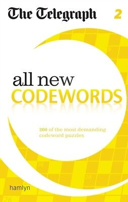 The Telegraph: All New Codewords 2 (The Telegraph Puzzle Books) (. 9780600626060