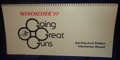BR1964 WINCHESTER '77 LARGE Counter Display Sporting Arms Product Information