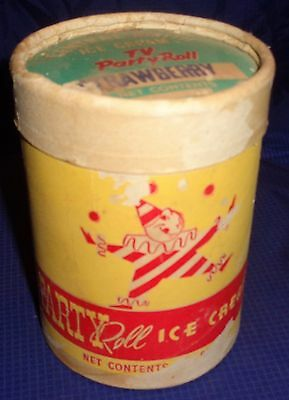 DP046 Vtg Central Smith Creamery Peterborough ON Ice Cream TV Party Roll 1 Pint