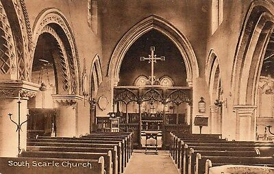 Nottinghamshire - Interior Of South Scarle Church