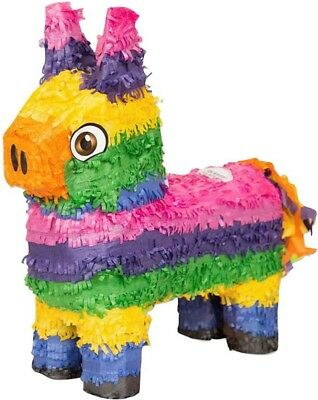 NEW Colourful Tissue Paper Donkey Piñata