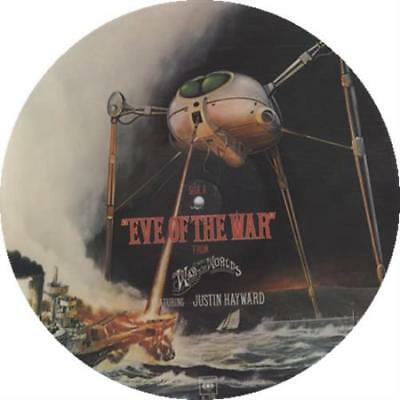 """Justin Hayward Eve Of The War UK 12"""" vinyl picture disc record 11-7731 CBS"""
