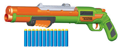 BuzzBee Air Warriors Rail Raider / Monorail - Dartblaster-Pumpgun/Shotgun