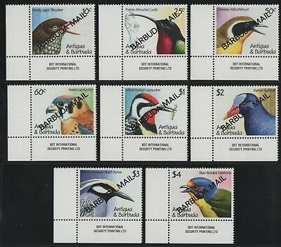 Barbuda 1991 - Mi-Nr. 1284-1291 ** - MNH - Vögel / Birds