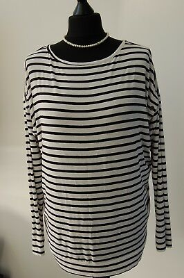 Ladies Seraphine Maternity Top UK 12 (E3)