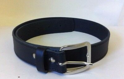"""30mm Childs/Boy/kids Genuine Leather Belt. Stitched. AVAILABLE XS 23"""" - 29"""""""
