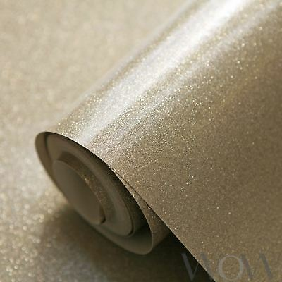 Luxe Glitter Sparkle Wallpaper Gold - World Of Wallpaper Wwc014 New