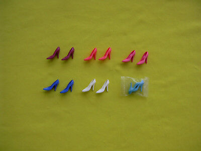 Barbie vintage lot lotto scarpe skinny pump x spectacular & day to night fahions