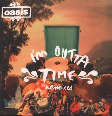 """I'm Outta Time - Remixes Oasis 7"""" vinyl single record UK RKID55X BIG BROTHER"""