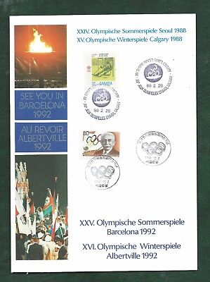 Sports stamps Olympics etc covers minisheets cards MNH and used 11 scans