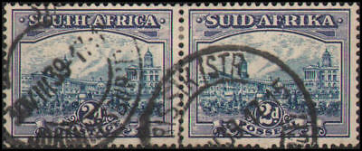 South Africa #53 Used horizontal pair