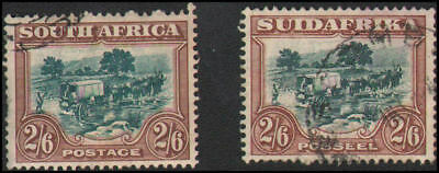 South Africa #30a-30b Used