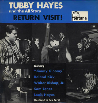 Return Visit! Tubby Hayes vinyl LP album record Dutch 687302TL FONTANA