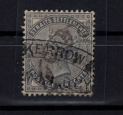 P38762/ Straits Settlements / Y&t # 15 Obl / Used 110 €
