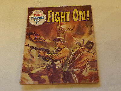 WAR PICTURE LIBRARY NO 500!,dated 1969!,GOOD for age,great 48!YEAR OLD issue.