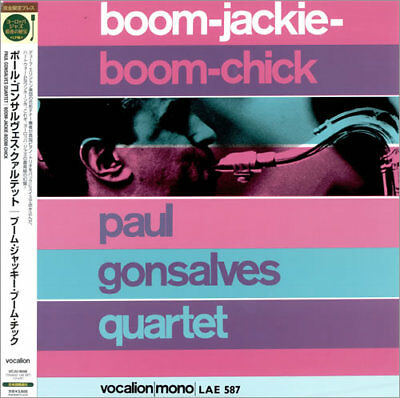 Boom-Jackie-Boom-Chick - 200gm Paul Gonsalves Japanese vinyl LP album record