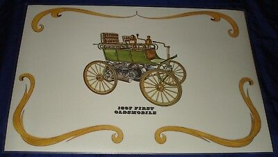 RF1282 1897 Oldsmobile First Print Laminated Placemat