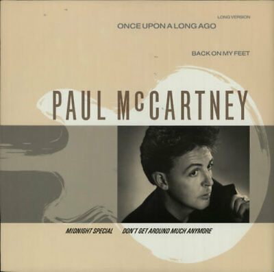 """Paul McCartney and Wings Once Upon A Lon... 12""""  record (Maxi) UK"""