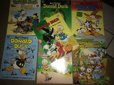 Gladstone Walt Disney Comic Lot Donald Duck & Donald Duck Adventures Comics