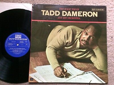 "Tadd Dameron Orchestra:""the Magic Touch"".1962 Riverside Mono.includes Bill Evans"
