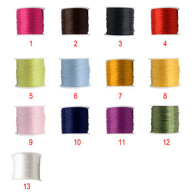 Waxed Thread 78m Polyester Cord Leather Sewing Stitching Line Craft Accessories